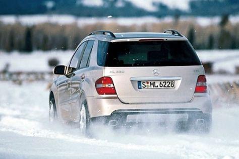 Fahrbericht Mercedes-Benz ML 320 CDI