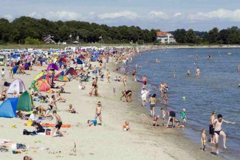 Strand von Boltenhagen: Die Wasserqualität an deutschen Küsten ist gut bis sehr gut