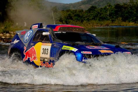 Rallye dos Sertões 2008, VW Race Touareg 2