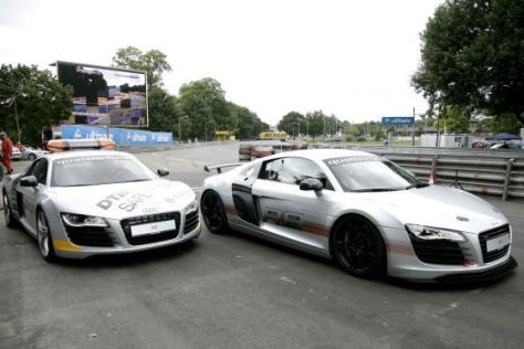 Audi R8 DTM Safety Car und Renntaxi