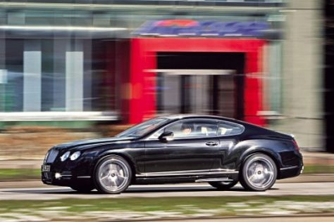 Bentley Continental GT von Mansory