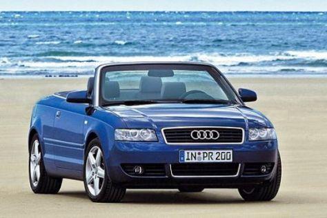 Rückruf Audi A4 Cabrio