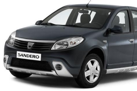 Dacia sandero mit SUV-Optik-Paket