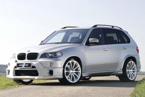 Hartge BMW X5 schräg vorne