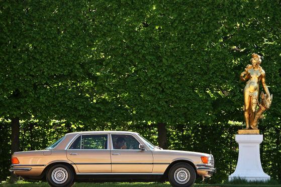 Burgenstraße Mercedes-Benz 450 SEL 6.9
