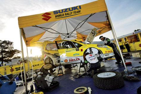 Suzuki SX4 WRC Service