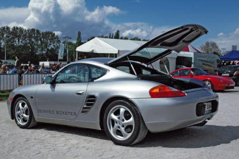 Porsche mit GFK-Dach