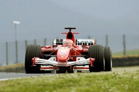 Schumi testet neues F1-Modell