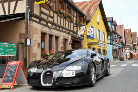 Fahrlehrgang Bugatti Veyron 16.4