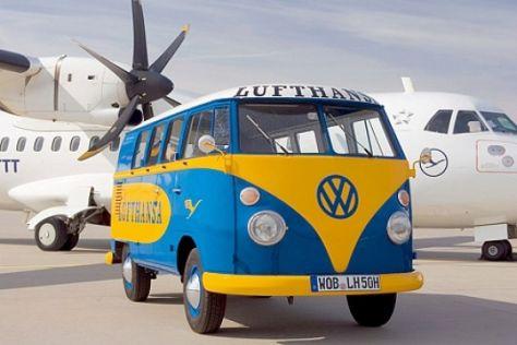 """Lufthansa-Bulli"" im Auto-Museum"
