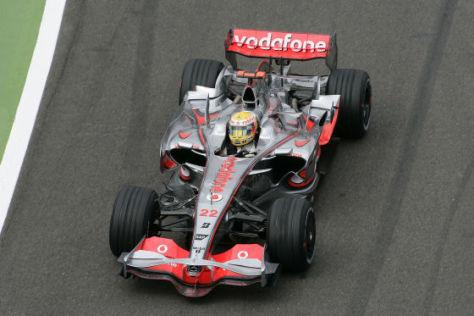 Formel 1, Silverstone 2008, Lewis Hamilton, McLaren-Mercedes