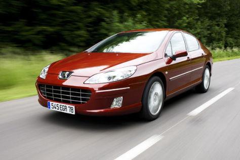 Peugeot 407 Limousine Modelljahr 2008