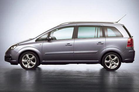 Preise für den Opel Zafira