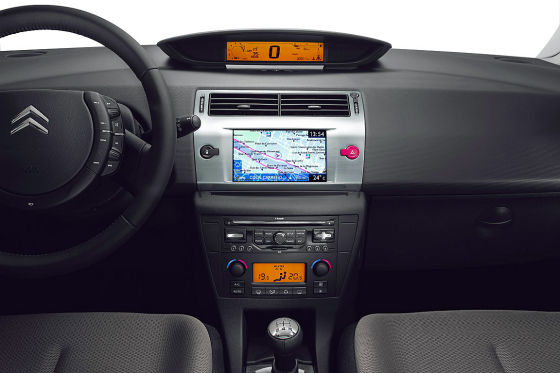 Citroën C4 Facelift 2008 Cockpit