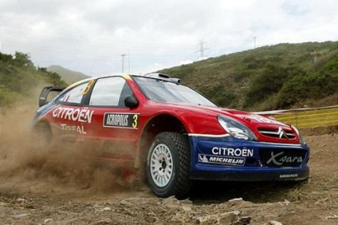Rallye-WM in Neuseeland