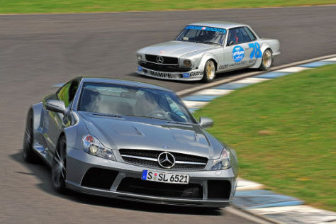 Mercedes-Benz AMG 450 SLC Mampe Mercedes-Benz SL 65 AMG Black Series