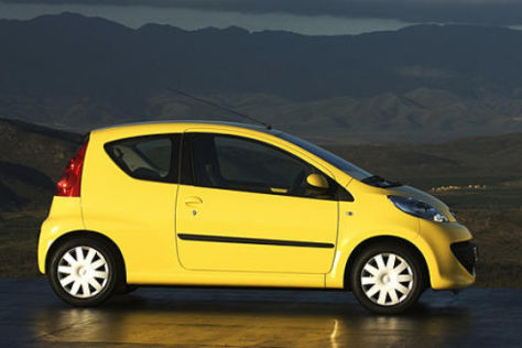 Peugeot 107 ab 8890 Euro