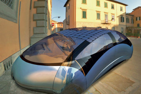Konzeptauto aus Ungarn