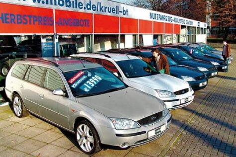 Ford Mondeo II (ab 2000)