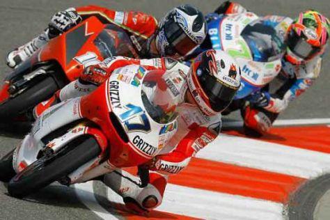 MotoGP 125er-Klasse, Stefan Bradl, Sachsenring 2008, Kiefer Aprilia