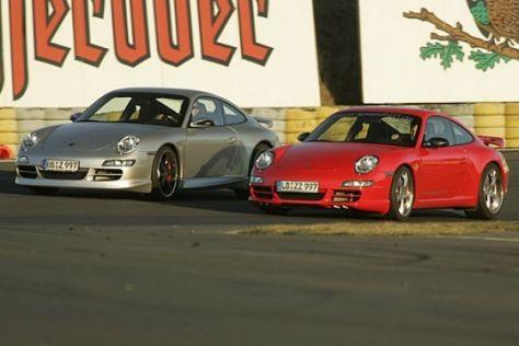Zwei getunte Porsche 911 S