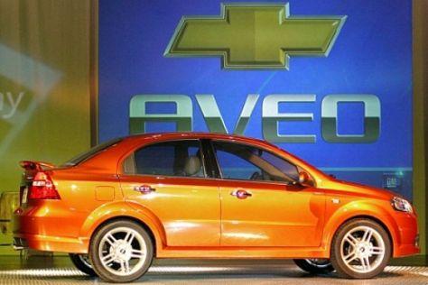 Neuer Chevrolet Aveo