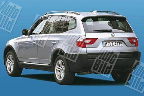 Facelift BMW X3