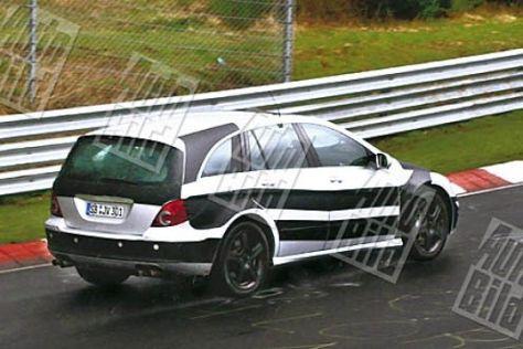 Mercedes R 63 AMG und CLK-Facelift