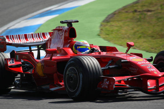 Formel 1 Tests in Hockenheim 2008, Felipe Massa, Ferrari