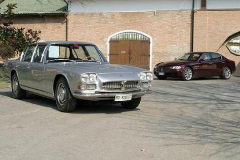 Maserati Quattroporte von 1966 und 2005