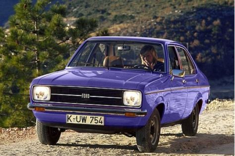 Ford Escort von Johannes Paul II.
