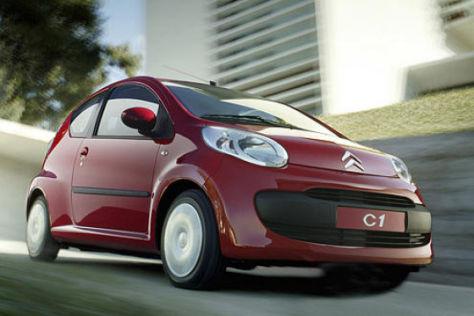 8390 Euro für den Citroën C1