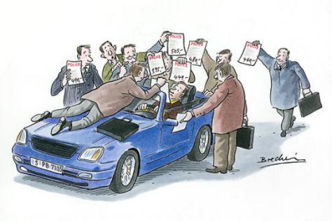 Autoversicherungen im Wettbewerb