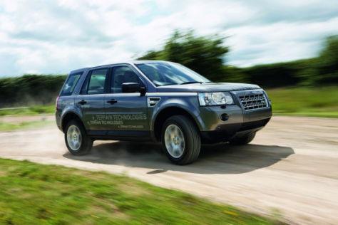 Land Rover zeigt in London einen Freelander mit Diesel-Hybridmotor.