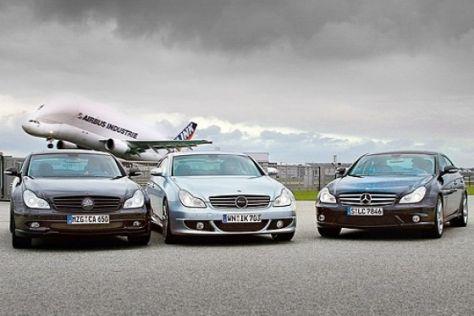 Mercedes-Benz CLS: Tuner gegen Werk