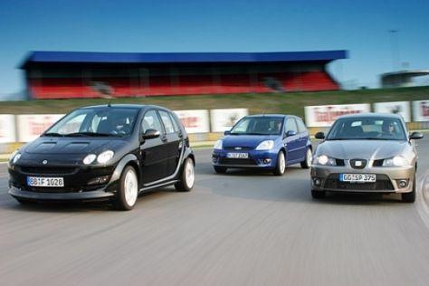 Drei starke Kleinwagen
