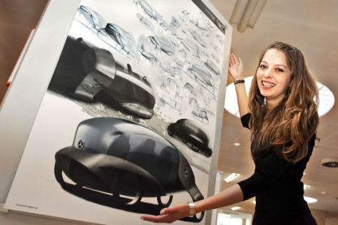 Design-Studentin Eva-Maria Günther