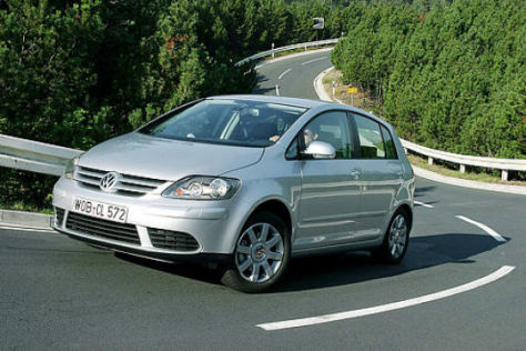 VW Golf Plus 1.6 – 2.0 FSI – 1.9 TDI