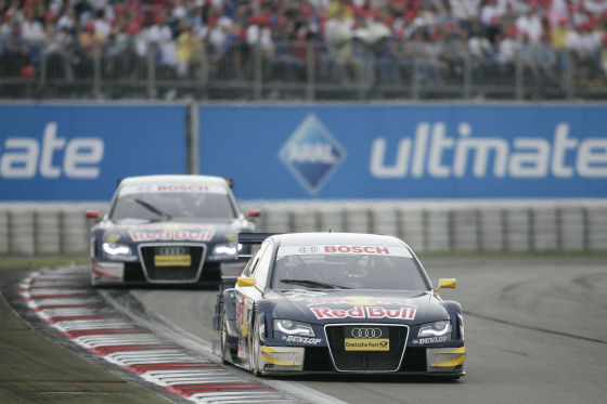 DTM 2008, Nürburgring, DTM-Audi-A4