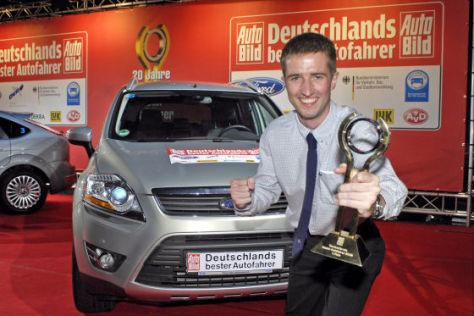 """Siegerehrung """"Deutschlands bester Autofahrer"""" 2008"""