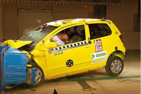 Crashtest VW Fox