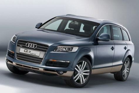 Audi Q7 hybrid Studie