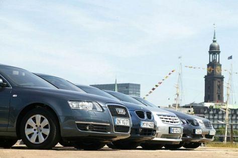 Fünf Luxus-Limousinen im Test