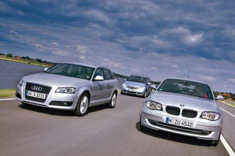 Vergleich Kompakte Benziner
