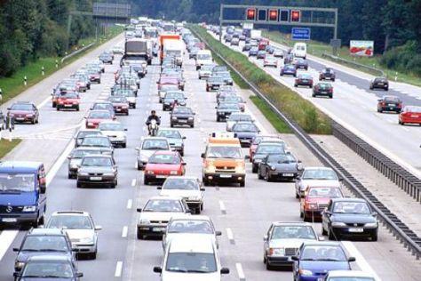 Autobahn Stau