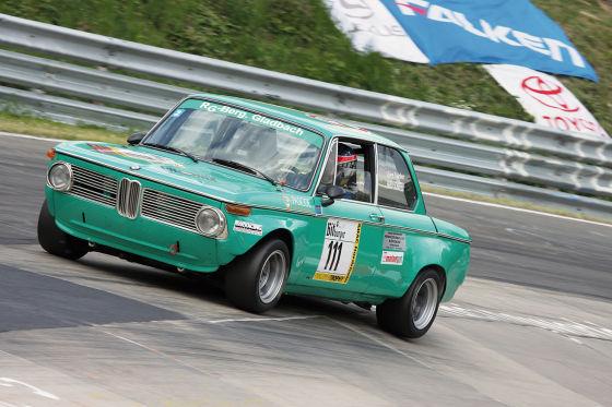 Auch ein BMW 2002 ti hätte gute Chancen der Super-Oldie zu werden.