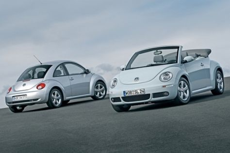 Facelift VW New Beetle