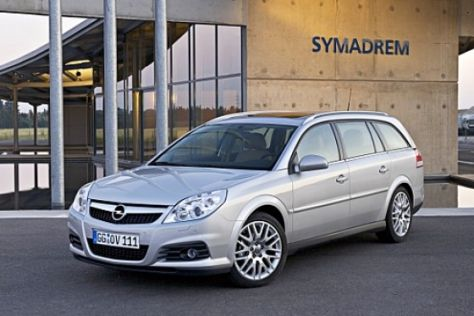 Facelift Opel Vectra