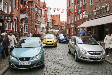 Mazda2 1.3 Renault Clio 1.2 16V Opel Corsa 1.4 16V Seat Ibiza 1.4 16V