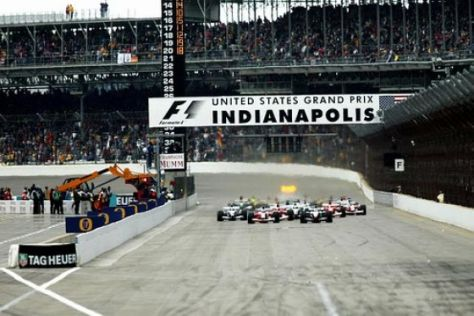 Formel 1 in Indianapolis